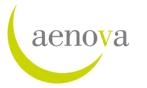 Aenova логотип
